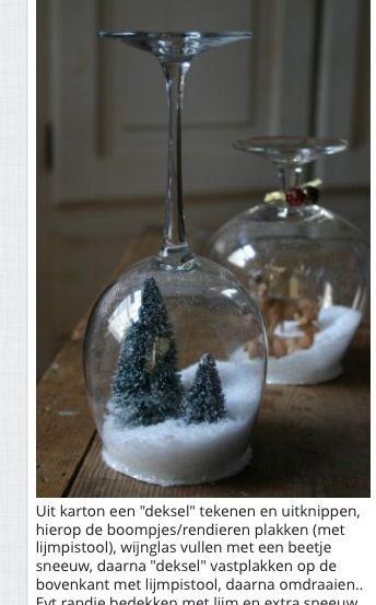 Kerst leuk idee