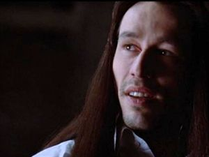 Michael Wincott. Okay, a big part of it is the voice... but it doesn't hurt one bit that he moves like a fencer.