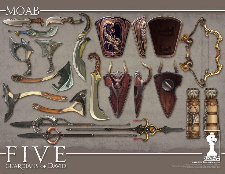 ArtStation - Five: Weapons Concepts #2, Manuel Gomez