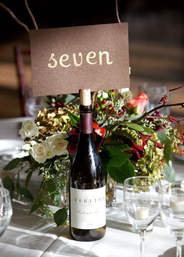 140 best table numbers and reserved sign ideas images on Pinterest