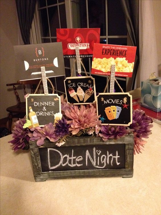 Date Night Basket for Jack & Jill Raffle! …