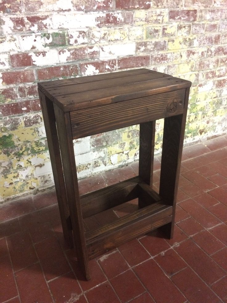 17 best ideas about pallet bar stools on pinterest pallet stool diy bar stools and rustic Rustic outdoor bar stools