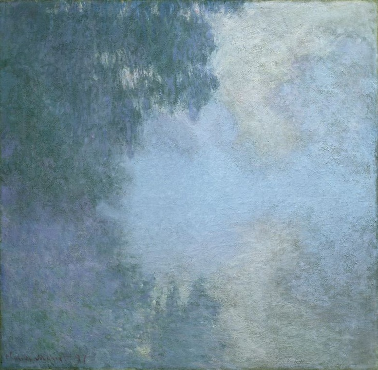 Mornings on the Seine - from Branch of the Seine near Giverny (Mist) series | Claude Monet | 1897