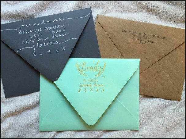 Wedding Invitation Edicate: Best 20+ Envelope Addressing Etiquette Ideas On Pinterest