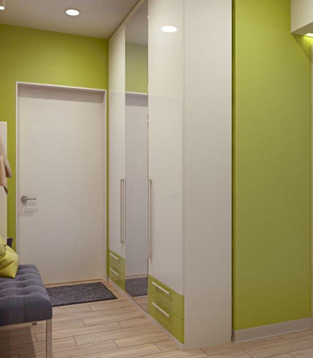 Технологии ноу-хау - Яркий радужный дизайн-проект трёхкомнатной квартиры