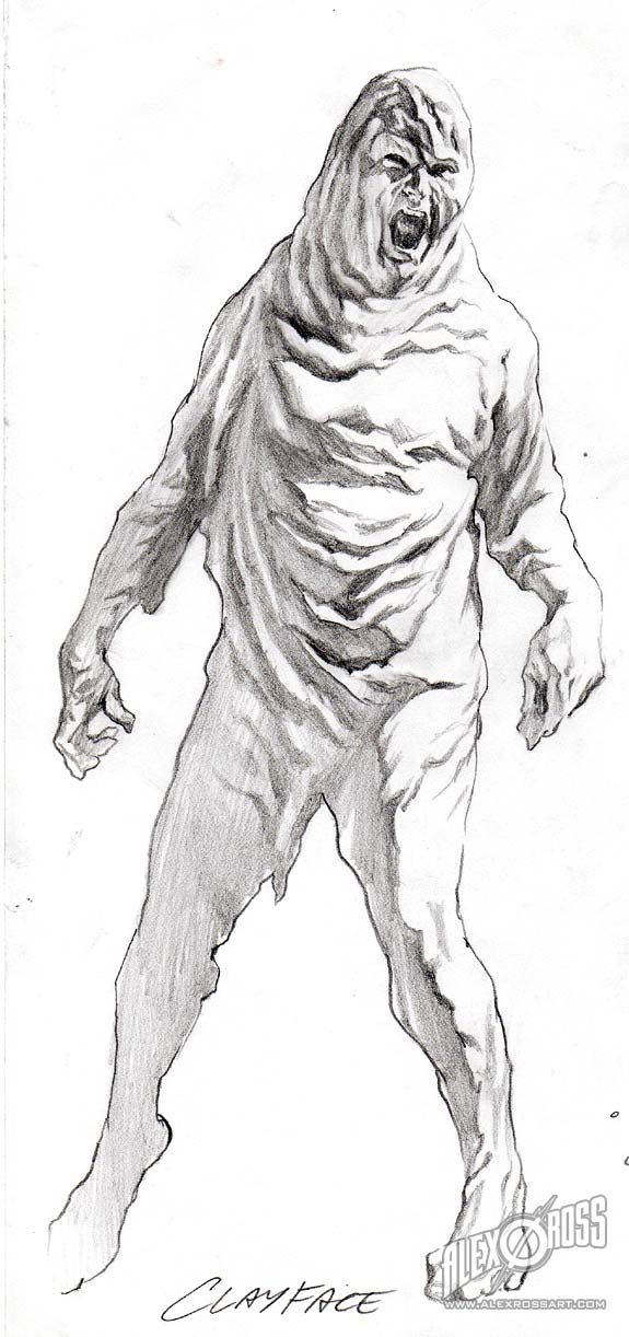 CLAYFACE, by Alex Ross.