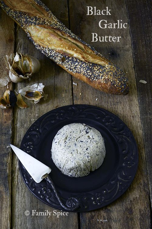Black Garlic Butter - Family Spice