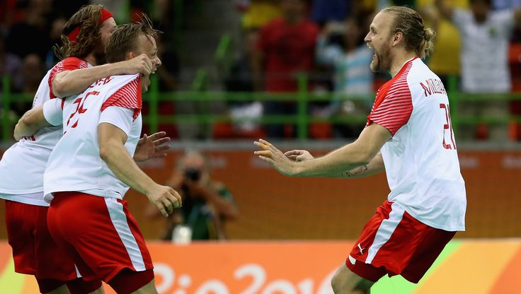 Denmark won their first ever Olympic gold medal in men's handball at…