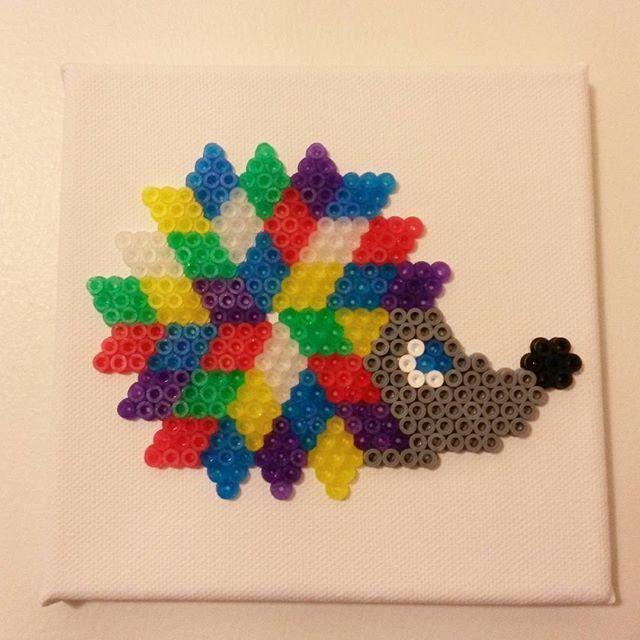 Hedgehog hama beads by melatoniini
