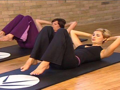 20 min Post-natal pilates