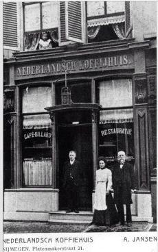 Nederlandsch koffiehuis, 1906, Nijmegen