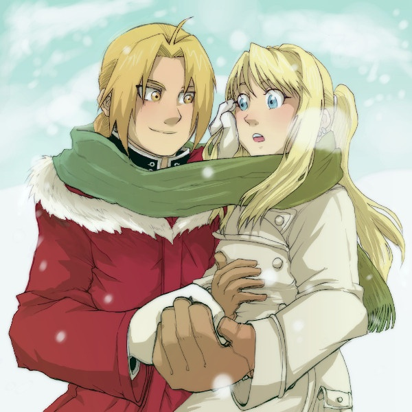 """""""An equivalent exchange. I'll give you half of my life...so you give me half of yours!"""" - Edward Elric   """"You really are an idiot...I'll give you more than half my life...I'll give you all of it."""" - Winry Rockbell  <3<3<3"""