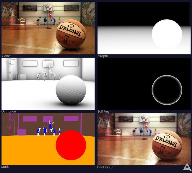 Basket Ball Court Render Pass's by AhmadTurk on DeviantArt