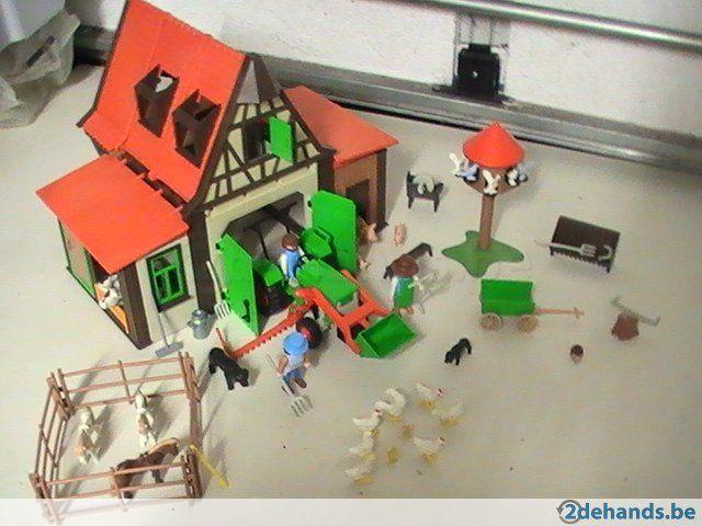 playmobil : boerderij met dieren