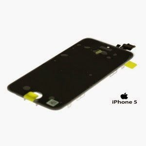 sGsm: ECRAN LCD DISPLAY COMPLET APPLE IPHONE 5 NEGRU
