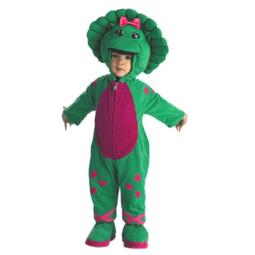 Barney Baby Bop Infant Plush Costume from PBS Kids Shop