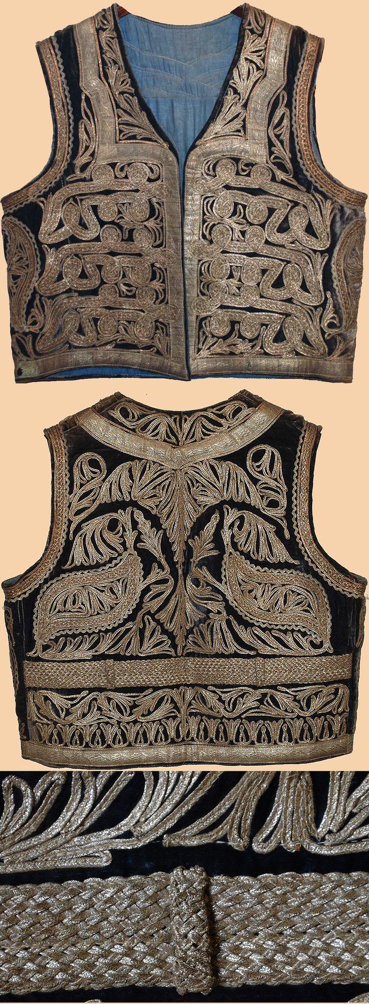 Antique Vests - TextileAsArt.com, Fine Antique Textiles and Antique Textile Information