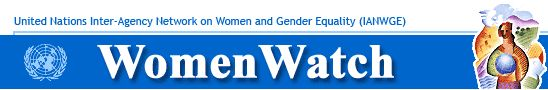 Information and resources on gender equality and empowerment of women.
