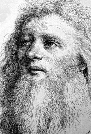 Ганс Гольбейн Старший, автопортрет