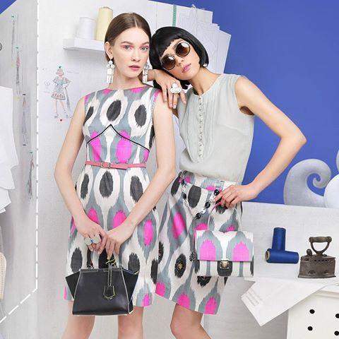 Make this summer prettier ❤ Stylish summer looks for office and cruise in stores now. ❤ Сделайте это лето ярче! Неповторимые летние образы для отдыха и офиса в коллекции LALI Resort 2018. #LaliSummerAtelier #Resort2018    Ювелирные украшения: @holmuradov_design  Обувь: @basconiuz    #ikat #fashion #uzbekistan #madewithlove @lalifashion