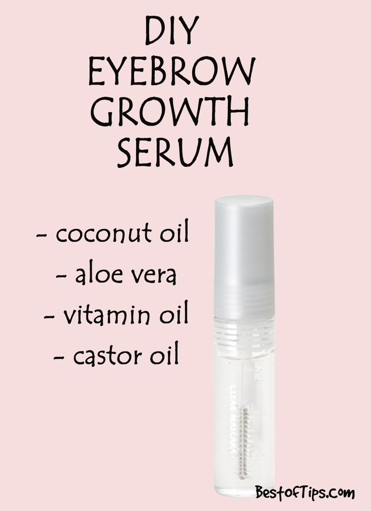Pin by lover 💫 on BEAUTY Natural serums, Eyebrow growth