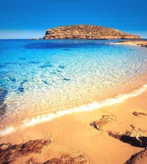 Good morning from beautiful Ibiza.