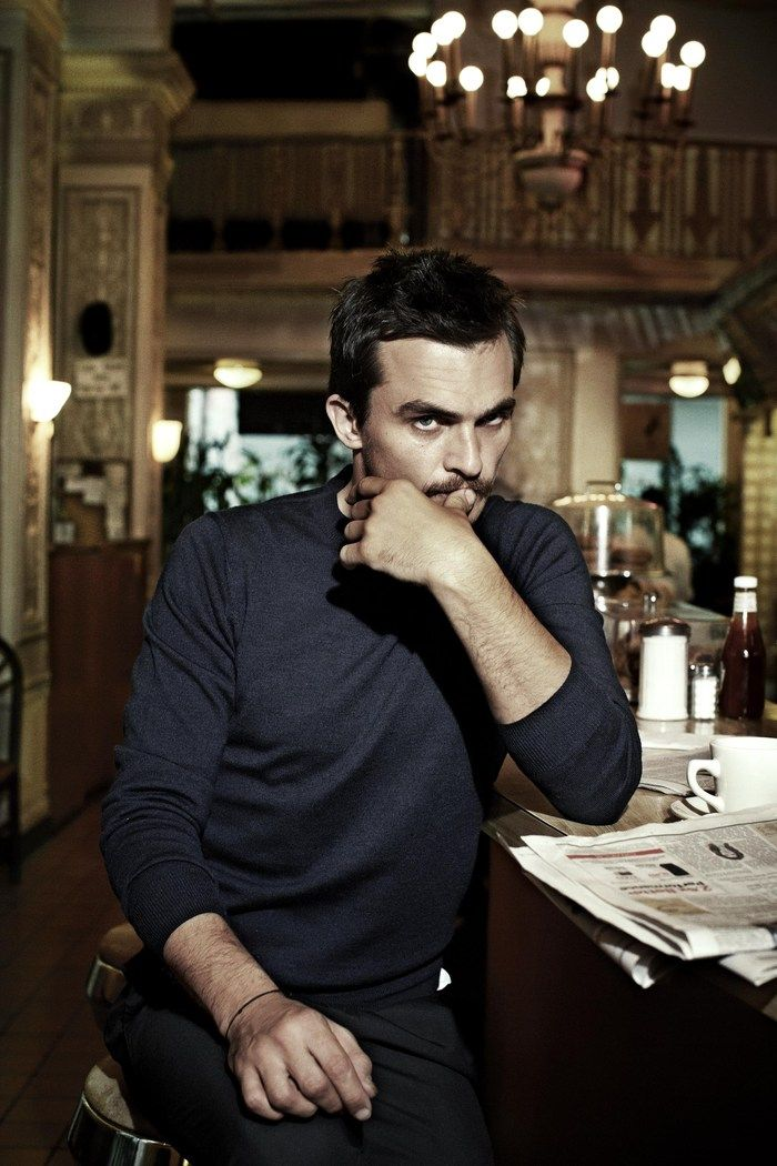 "Rupert Friend photographed by Danielle Levitt in a photo shoot for ""Hunger"" magazine fall/winter 2013"