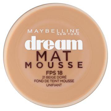 teint fond de teint mousse dream mat mousse Gemey-Maybelline