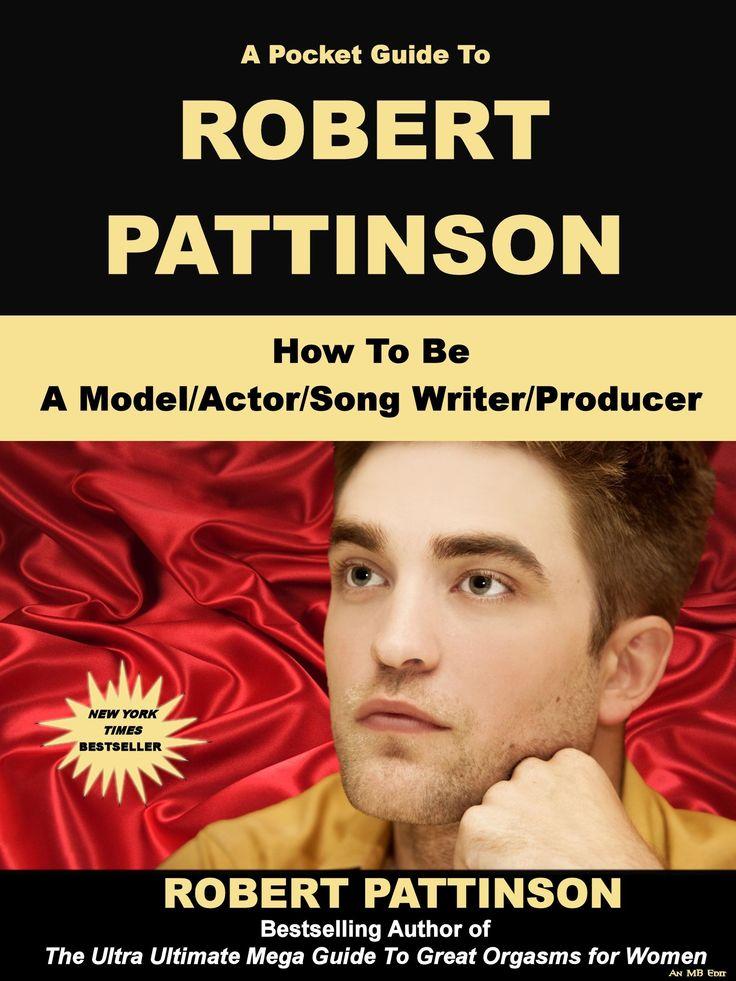 Book Cover Design For Autobiography : Self biography fake book cover robert pattinson