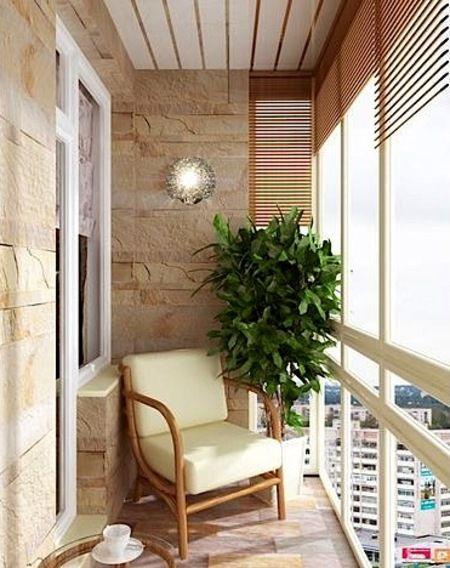 узкий балкон дизайн - Поиск в Google
