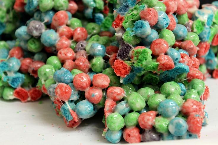 Cap'n Crunch Oops! All Berries Marshmallow Treats