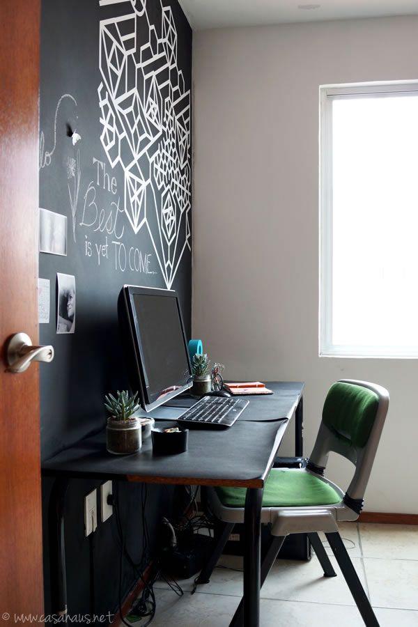 Nuestra oficina negra | Casa Haus