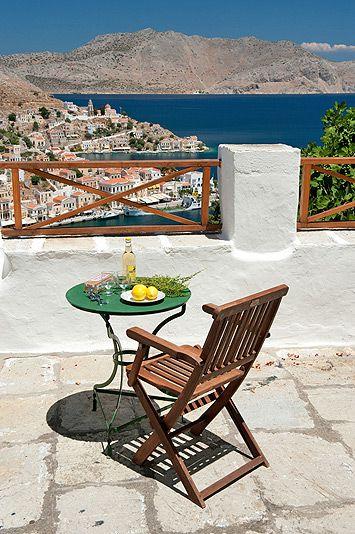 Symi Harbour, Greece