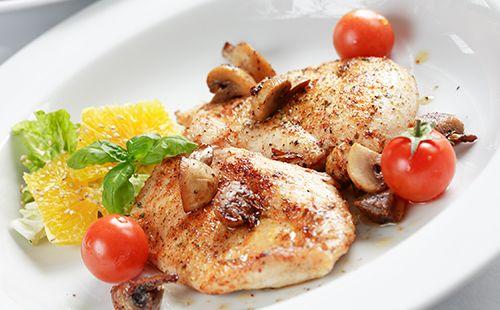 pečená kuřecí prsa