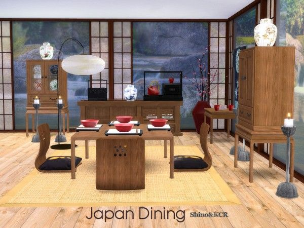 The Sims Resource Japan Dining By Shinokcr Sims 4