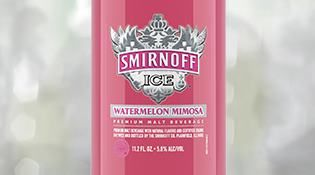 Smirnoff Ice introduces juicy watermelon flavor with prosecco notes.