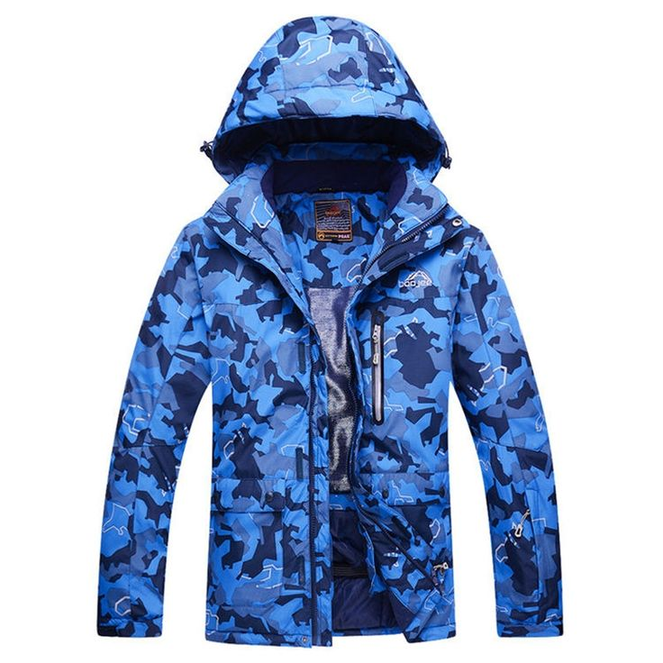 (67.93$)  Know more  - MENs Cheap Camouflage Snow Jackets skiing Jacket Outdoor Skiing snowboard 1000mm waterproof & windproof winter Warm -30 clothes