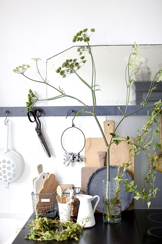 Zoom mise en scène cuisine | Kitchen styling