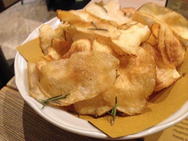 Patate fritte con buccia. #ricette #cucina