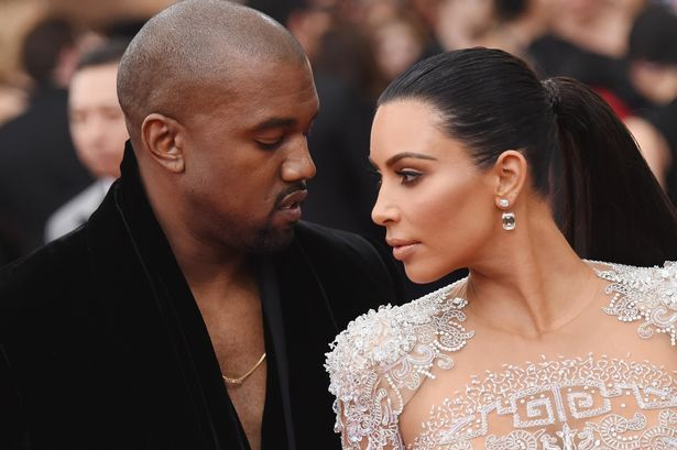 Kim Kardashian is being 'amazing' as she stands by Kanye West's side a month after Paris robbery #kardashian #being #amazing #stands #kanye…