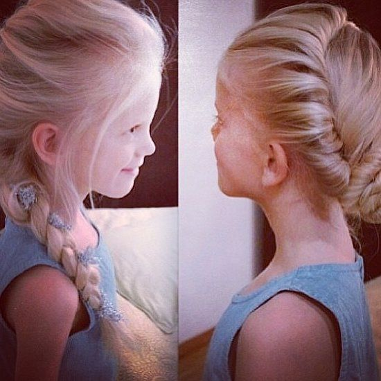 Do You Wanna Build an Updo? 5 Cool Hairstyles Inspired by Frozen: Children, mine included, have been singing the songs from Disney's Frozen for weeks now, but my daughter went a step above crooning the tunes over and over again.