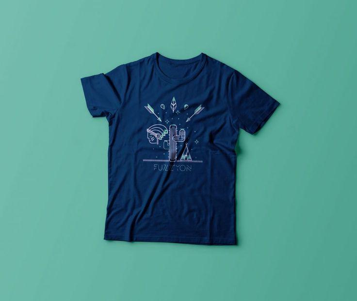 fuzz'yon / t-shirt /// NAVYY