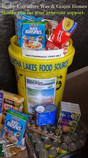 Thank you from #Realty #Executives #Way Ltd. & #Grajen #Homes for your #community #support in donating for the #Kawartha #Lakes #Food #Source!   It's so wonderful to be part of such a giving community!  darolyn@realtyexecutivesway.com 705-324-7171 - www.realtyexecutivesway.com Look for darolynjonesteam on FB, Twitter, YTube, Blogger, LinkedIn