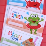 Loads of free printables.  Candy toppers, wrappers, and more!
