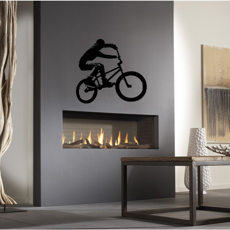Decorate your home with this beautiful and affordable vinyl decal for your walls. The decals are easy to apply and make a room look elegant. With a paint-like appearance, these vinyl decals will compl