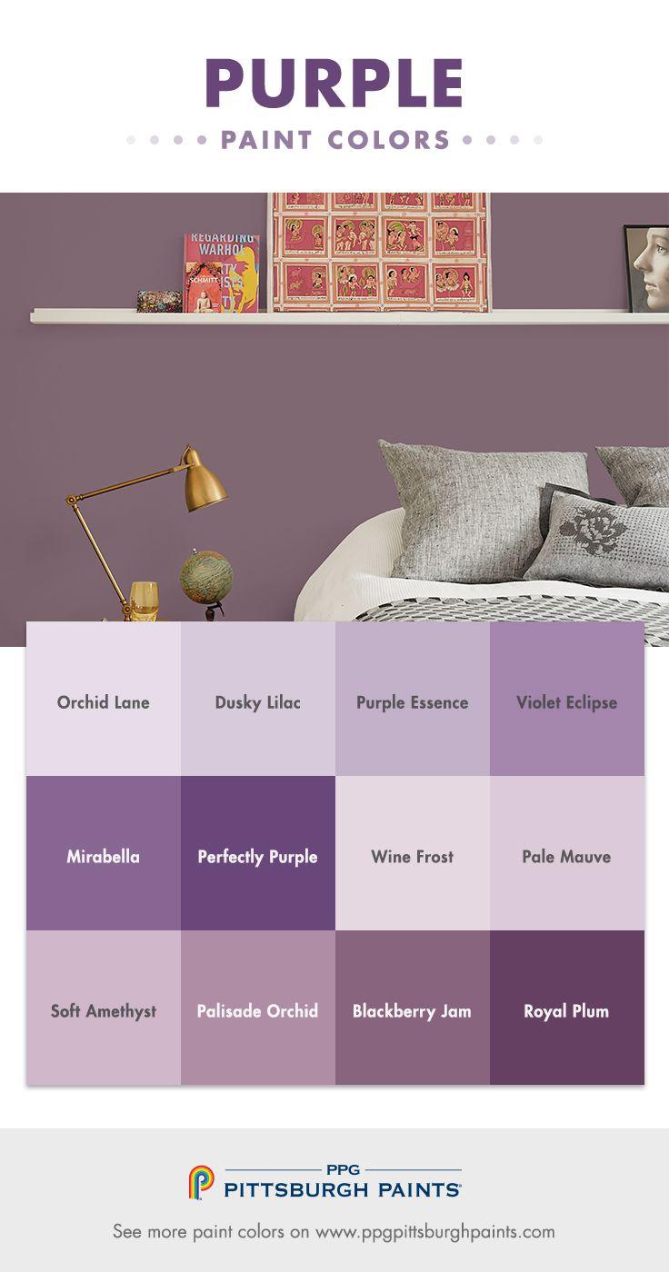 Best 25+ Purple paint colors ideas on Pinterest | Which ...