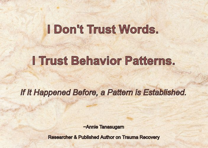 Human Behavior Includes Both Word Action But What About When Someone S Word Doesn T Match Their Action Narcissists Wi Trust Words Human Behavior Behavior