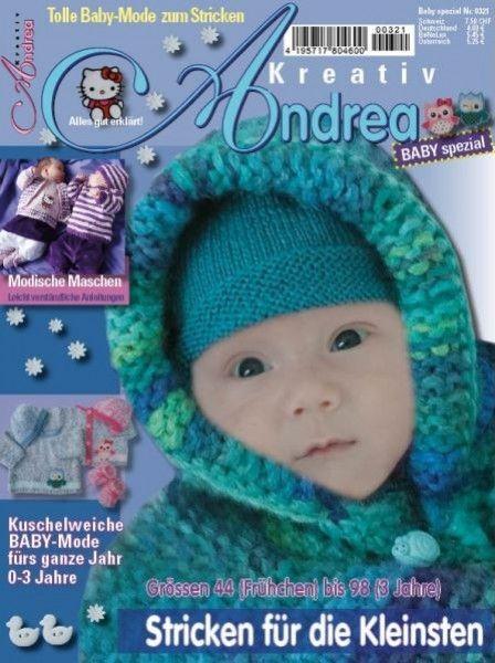 """Andrea Kreativ Extra 0321/2014 """"Stricken für die kleinsten"""""""