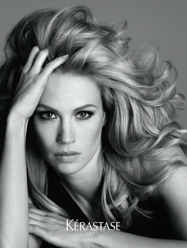 January Jones Talks About Being Kerastase's New Muse #Kerastase #Nutritive
