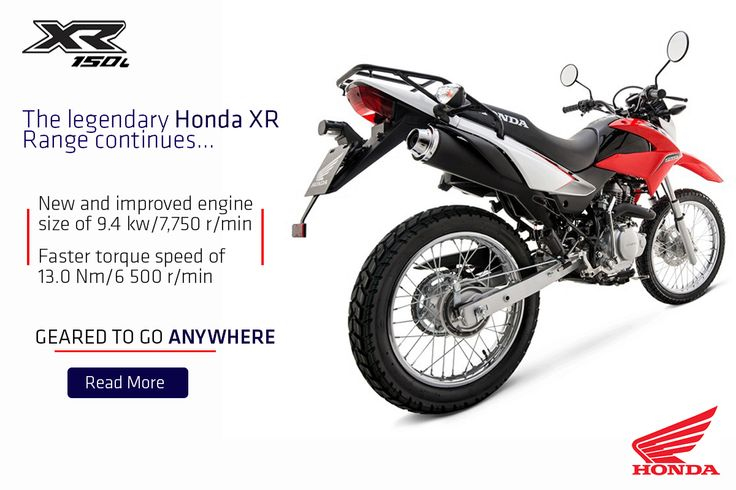 Honda is the world's largest producer of four-stroke engines and the market leader on quality four-stroke motorcycles in the Aid & Development sector.